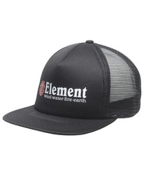 0 Rift Trucker Hat Black MAHTNERI Element