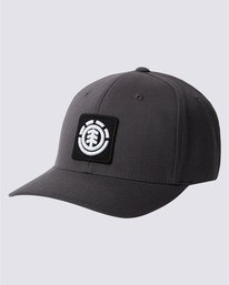 0 United Curved Patch Hat Grey MAHTSEUC Element