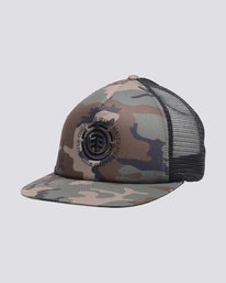 0 Seal 2 Trucker Hat Camo MAHTVEST Element