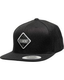 1 Trekker Flexfit Hat Black MAHTVETR Element