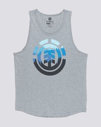 0 Glimpse Icon Tank Top Grey MT90TEGL Element