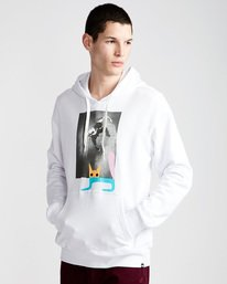 0 Jaakko Cat Po Hood - Fleece for Men White N1HOC1ELP9 Element