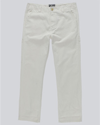 0 Timber Staff Pant - trousers for Men White N1PTA4ELP9 Element