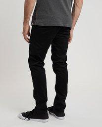3 Sawyer - Trousers for Men Black N1PTA8ELP9 Element