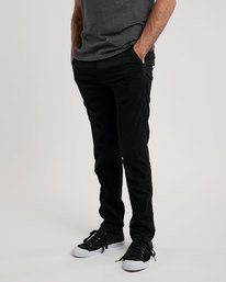 0 Sawyer - Trousers for Men Black N1PTA8ELP9 Element