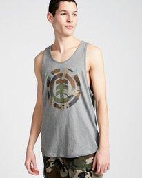 0 Foundation Icon Tank - Tee Shirt for Men Grey N1SGA1ELP9 Element