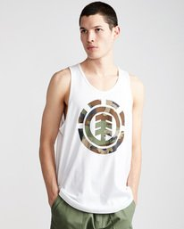 0 Foundation Icon Tank - Tee Shirt for Men White N1SGA1ELP9 Element