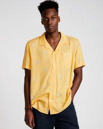 0 Yawyd Ss - Shirt for Men Yellow N1SHA6ELP9 Element