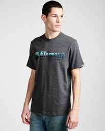 0 Glimpse Horizontal S - Tee Shirt for Men Grey N1SSA7ELP9 Element
