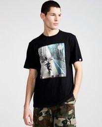 0 Avenue Ss - Tee Shirt for Men Black N1SSB1ELP9 Element