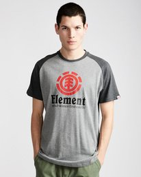 0 Vertical Ss Raglan - Tee Shirt for Men  N1SSC8ELP9 Element