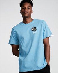 0 Craken Ss - Tee Shirt for Men Blue N1SSD4ELP9 Element