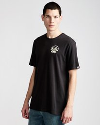 0 Shapes Ss - Tee Shirt for Men Black N1SSD8ELP9 Element