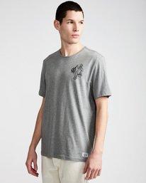 0 Crew Ss - Tee Shirt for Men Grey N1SSE2ELP9 Element