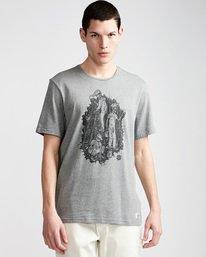 0 Night Shift Ss - Tee Shirt for Men Grey N1SSE4ELP9 Element