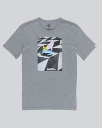 0 El Gato Ss - Tee Shirt for Men Grey N1SSE8ELP9 Element