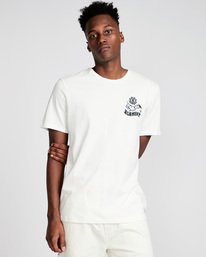 0 Painted Ss - Tee Shirt for Men White N1SSE9ELP9 Element