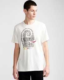 0 Pimiento Ss - Tee Shirt for Men White N1SSF8ELP9 Element