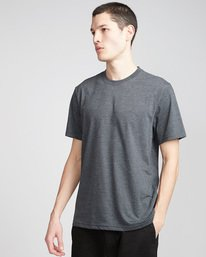 0 Basic Crew - T-Shirt Grey N1SSG1ELP9 Element