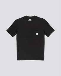 0 Basic Pocket Label - Camiseta de manga corta Negro N1SSG3ELP9 Element