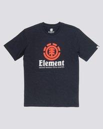 0 Vertical - Maglietta a maniche corte da Uomo Black N1SSG4ELP9 Element