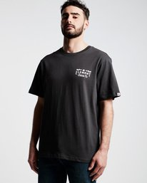 0 Zap Ss Tee Ftm - Tee Shirt for Men Black N1SSI5ELP9 Element