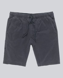 0 Altona Wk - Walkshort for Men Black N1WKA6ELP9 Element