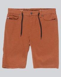0 E02 Color Wk - Walkshort for Men Orange N1WKB4ELP9 Element