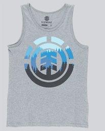0 Glimpse Icon Singlet - Tee Shirt for Boys Grey N2SGA1ELP9 Element