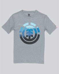 0 Glimpse Icon Ss Boy - Tee Shirt for Boys Grey N2SSA2ELP9 Element