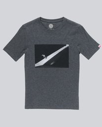 0 Slash Ss Boy - Tee Shirt for Boys Grey N2SSC6ELP9 Element