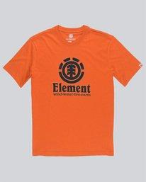 0 Vertical - Short Sleeve T-Shirt for Boys Red N2SSC8ELP9 Element