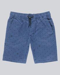 0 Altona Print Wk Boy - Walkshort for Boys Blue N2WKA2ELP9 Element