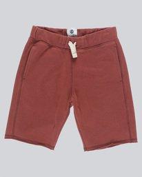 0 Neon Juice Short Boy - Walkshort for Boys Red N2WKA7ELP9 Element