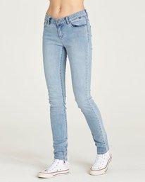 0 Sticker - Jeans for Women Blue N3PNA1ELP9 Element