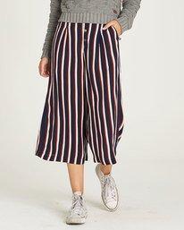 0 Aluna Culotte Pant - trousers for Women Blue N3PTA1ELP9 Element