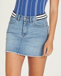 0 Waverly Denim Skirt - Skirt for Women Blue N3SKA3ELP9 Element