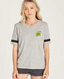 0 Yawyd Cr - Tee Shirt for Women Grey N3SSB7ELP9 Element