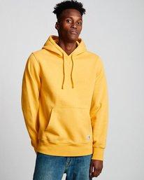 0 Neon - Sudadera con capucha para Hombre Amarillo Q1HOA4ELF9 Element