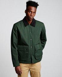 0 Greenwood - Jacket Green Q1JKC1ELF9 Element