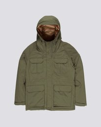 0 Hawk - Parka para Hombre Verde Q1JKC2ELF9 Element