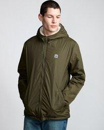 0 Elkins Alder Sherpa - Jacket Green Q1JKC5ELF9 Element