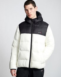 0 Primo Alder Avalanche - Jacket White Q1JKD5ELF9 Element