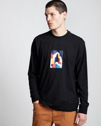 0 SD - Long Sleeve T-Shirt Black Q1LSA2ELF9 Element