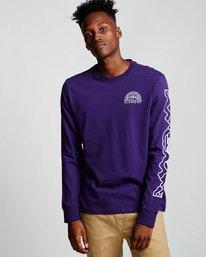 0 Odyssey - Long Sleeve T-Shirt Purple Q1LSA9ELF9 Element