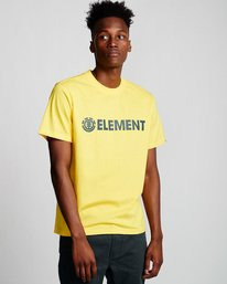 0 Blazin - Maglietta a maniche corte da Uomo Yellow Q1SSA6ELF9 Element
