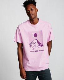 0 Before - T-Shirt Purple Q1SSC5ELF9 Element