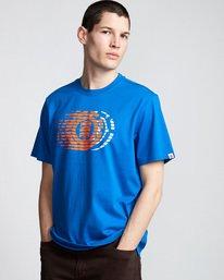 0 Victory - T-Shirt Blue Q1SSE2ELF9 Element