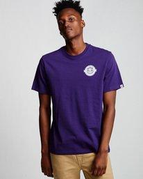 0 Medallian - T-Shirt Purple Q1SSE3ELF9 Element