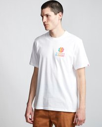 0 Drop - Maglietta da Uomo White Q1SSE4ELF9 Element